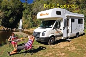 Britz Explorer Campervan