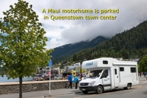 Campervan Hire in Queenstown