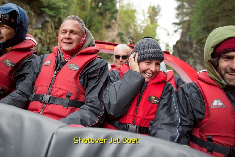 Queenstown activity - Jet Boat Trip